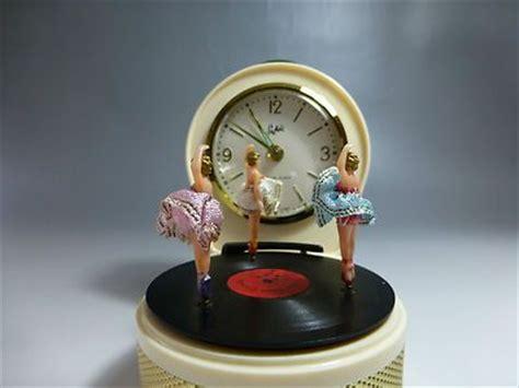 vintage german alarm clock   box dancing