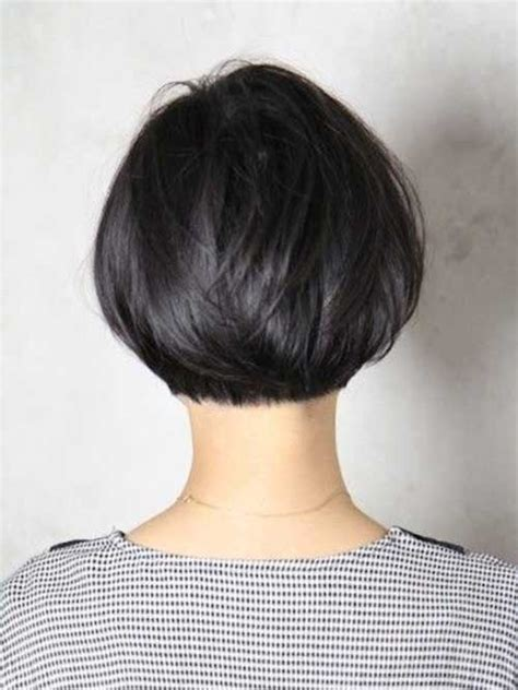 textured bob hairstyle photos layered haircuts back view hairstyles for