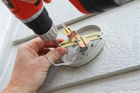 How To Install A Wall Sconce Home Improvement Replacing Outdoor Light Fixtures Don T