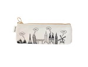 pencil pouch maptote pencil pouch