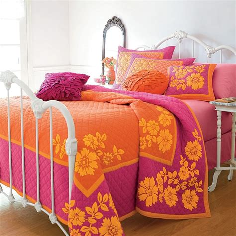 pink and orange bedding 25 best ideas about orange bedding on pinterest bright
