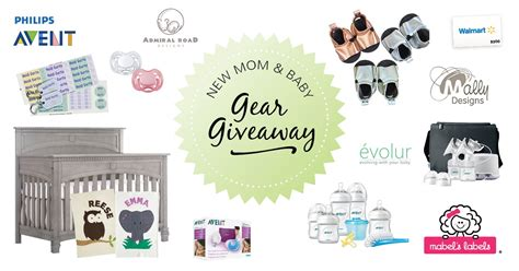 Free Giveaways For New Moms - new mom baby gear giveaway