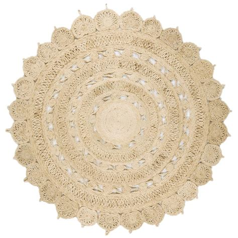 circle jute rug zira light jute circle rug