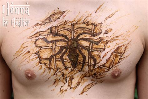 henna tattoo chest chest henna design henna by