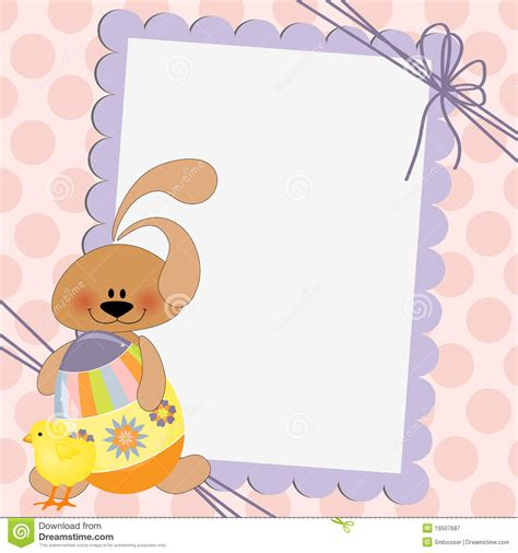 free easter card templates for photographers template for easter postcard royalty free stock