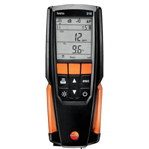 testo ca testo 310 combustion analyzer residential kit 0563 3100