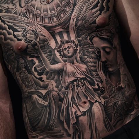guardian tattoo full body 36 most popular angel tattoos ideas