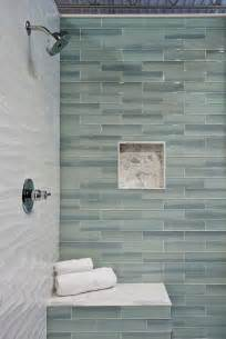 Glass Bathroom Tile Ideas Best 25 Glass Tile Bathroom Ideas On Subway Tile Colors Large Bathrooms And Small