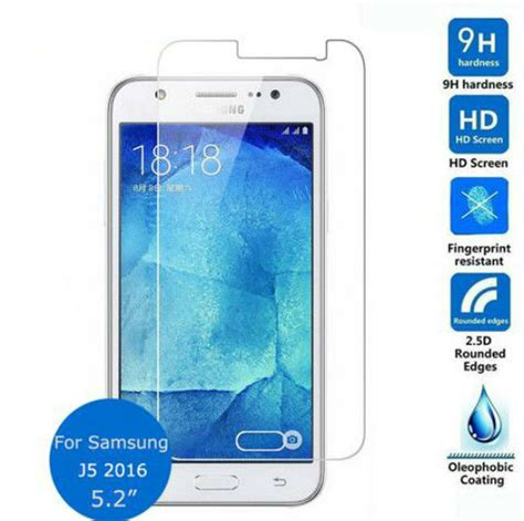 Ibiza Tempered Glass Samsung Galaxy J510 2016 Clear Aliexpress Buy 2x Tempered Glass Screen Protector
