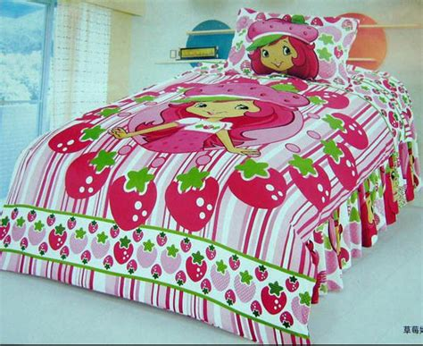 Strawberry Shortcake Toddler Bedding Set Strawberry Shortcake Bedroom Comforter Set Bedding Set Duvet Cover Quilt