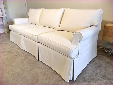 canvas slipcover sofa canvas sofa slipcover lovable sofa slip cover with