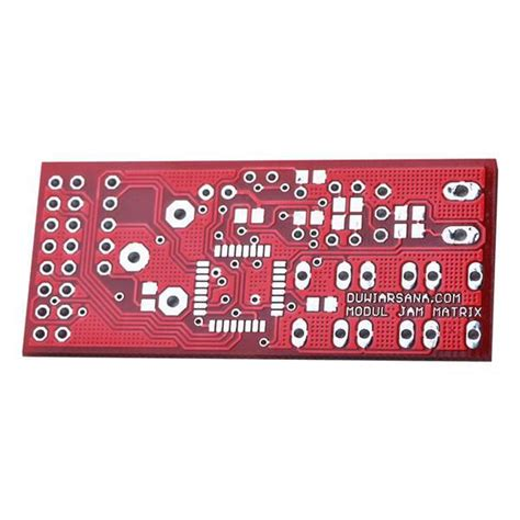 Harga Jam Matrix pcb file jam matrix duwi arsana