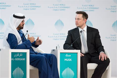 elon musk dubai transportation of the future discussed at world government