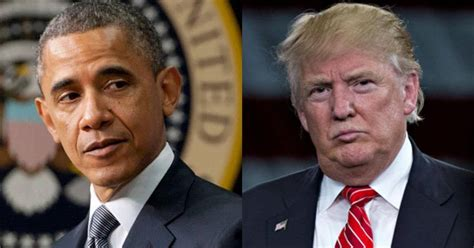 donald trump vs obama obama admin caught in sick plan to destroy trump before he