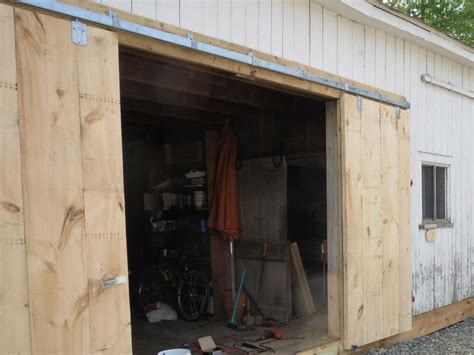 Building A Sliding Barn Door Build Doors Build The Barn Door Use Inexpensive Pine From Home Depot The Size Will