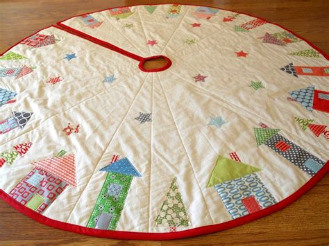 how to make a christmas tree skirt handspire