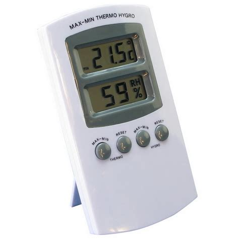 Thermometer Hygrometer Digital digital hygrometer thermometer with memory growland