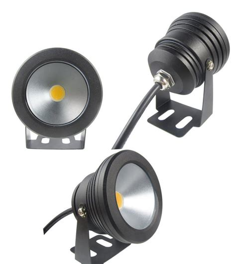 Led Outdoor Spot Lighting 1pcs Black Color 10w Underwater Led Flood Wash Pool Waterproof Light Spot L 12v Outdoor