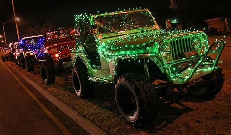 jeep christmas lights 17 best christmas jeeps images on pinterest jeep life