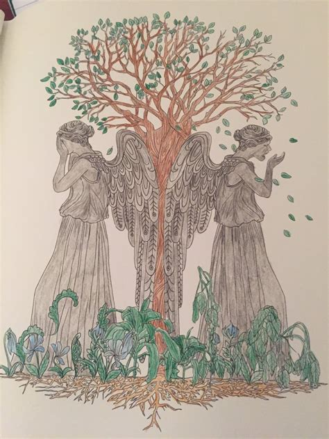 doctor who coloring pages weeping angels weeping angels doctor who coloring book by syaoranlover5