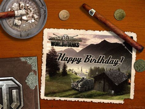 World Of Tanks Gift Cards - birthday cards art world of tanks