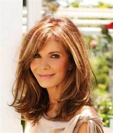 hairstyles for 50 for brown hair and highlights best hairstyles for women over 50 faceshairstylist com