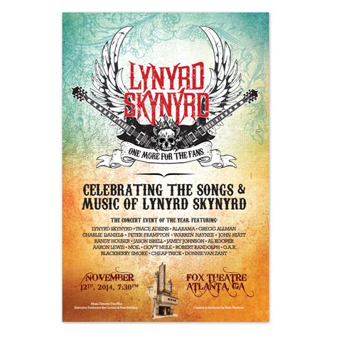 one more for the fans lynyrd skynyrd one more for the fans poster