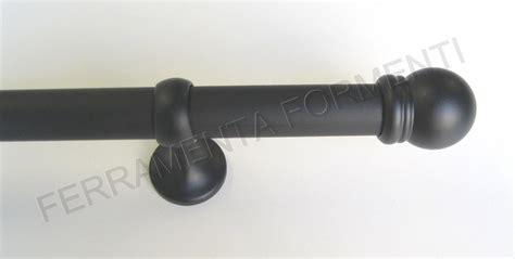 tubi per tende tubo per tenda diam 22 mm con supporti cm 7 e finali a