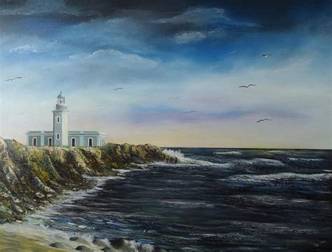 Lighthouse House Plans cabo rojo lighthouse painting by tony rodriguez