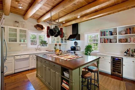 Rustic Kitchen White Cabinets Www Pixshark Com Images White Rustic Kitchen Cabinets