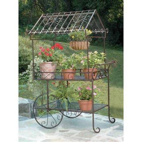 Flower Garden Carts Tea Serving Carts Garden Flower Cart