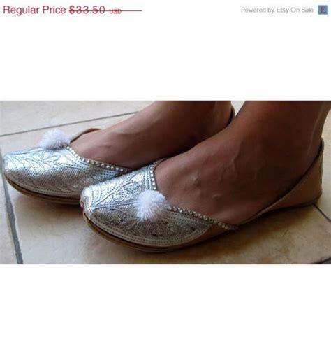 Handmade Designer Shoes - day sale 20 silver bridal ballet flats wedding