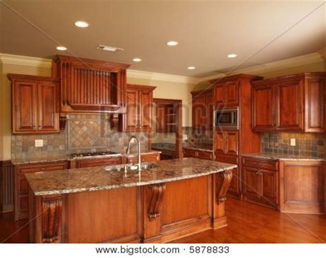kitchen center island cabinets picture or photo of luxury home dark wood kitchen cabinets