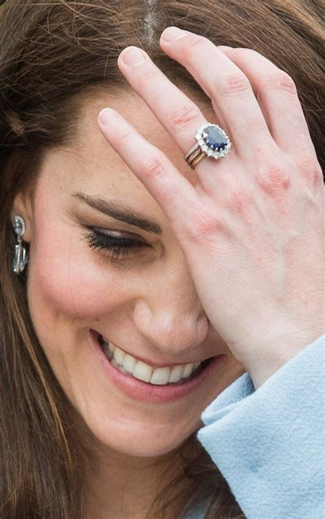 duchess of cambridge engagement ring wedding ring as the