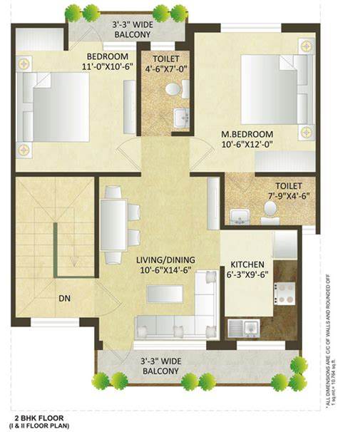 duplex house plans india 900 sq ft projetos at 233 100 m2 2 bhk independent house plans in india