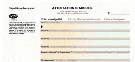 Lettre De Demande De Visa Visite Familiale Modele Attestation Hebergement Pour Visa Document