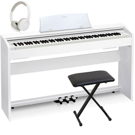 casio bench casio px 770we home digital piano 88 key weighted with