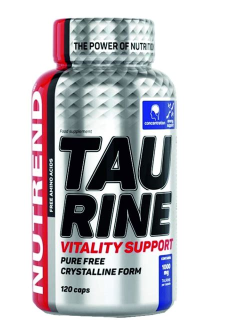 Nutrend Vitaly Capsules nutrend taurine 120 capsules
