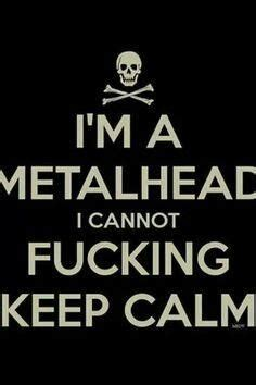 Listen To Metal keep calm and listen to metal metalheads