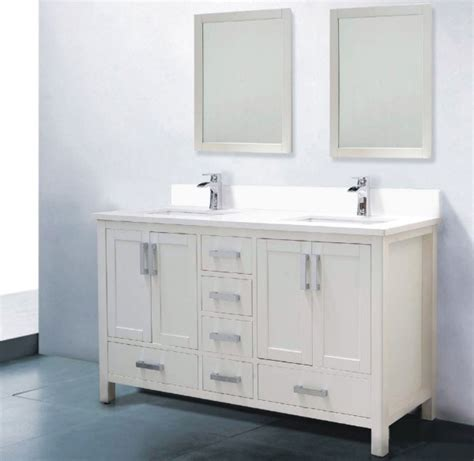 60 white bathroom vanity 60 white bathroom vanity double sink decor ideasdecor ideas