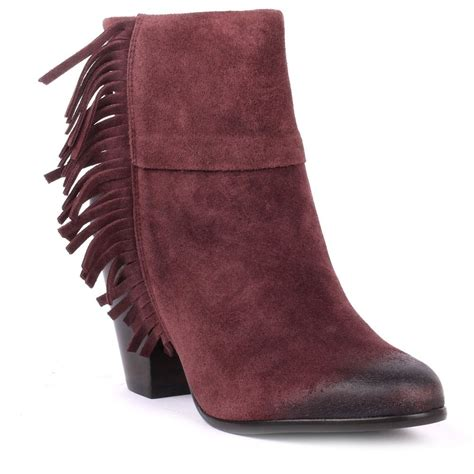 ash prune ankle boots