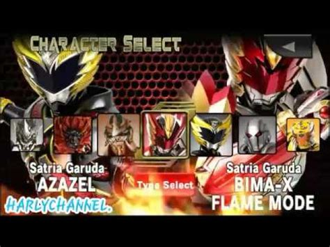 download game bima x mod character bima x game indonesia all character youtube