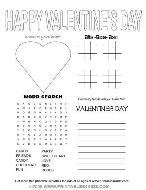 activities for valentines day 17 best images about 02 february v day president s day