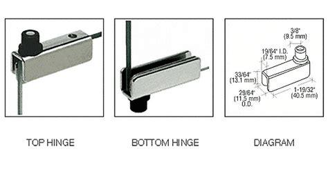 Engsel Pintu Tebal 5 High Quality Hinges crl chrome standard mount glass door hinges gdh5ch ebay