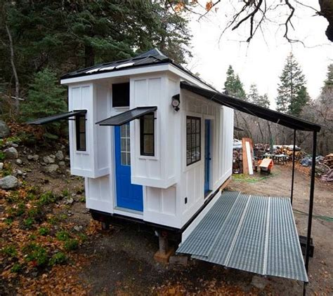 design your own tiny home on wheels couple builds luminous 192 sq ft tiny house for extra