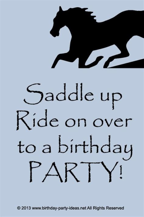 printable horse quotes 138 best horse theme birthday party images on pinterest