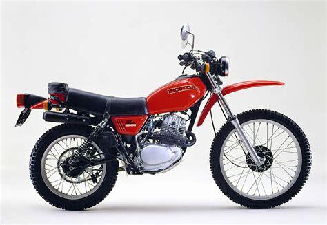 Honda Motorrad 250 by Honda Sl 250 Und Xl 250 1972 1986 Vierventiler Auf