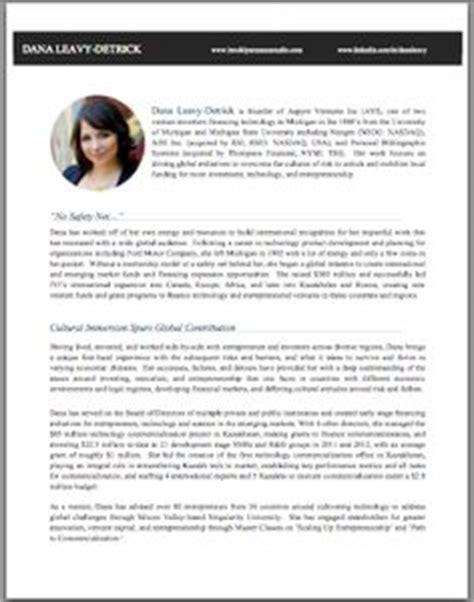 professional bio sle brooklyn resume studio preview