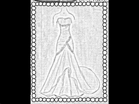 imagenes de vestidos de novia para colorear tutorial vestido drapeado de gala youtube