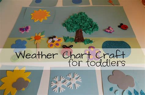 how to crafts for weather chart craft for toddlers socks and lollipops